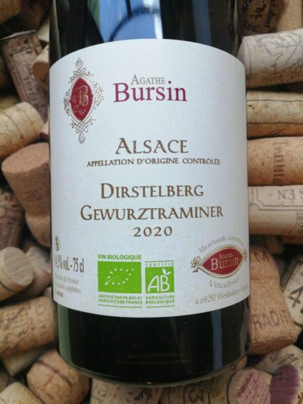 Agathe Bursin Gewurztraminer Dirstelberg Alsace 2020