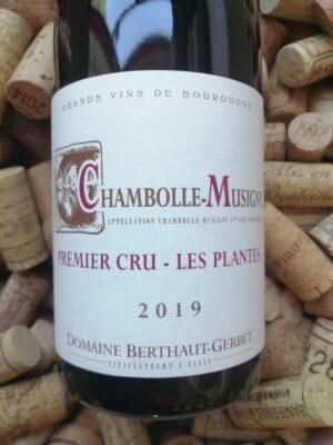 Domaine Berthaut Gevrey Chambolle Musigny Premier Cru Les Plantes 2019