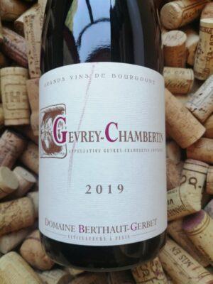 Domaine Berthaut-Gerbet Gevrey Chambertin 2019