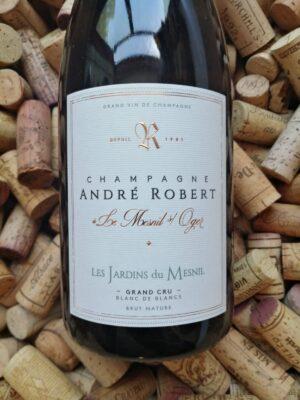 Andre Robert Les Jardins du Mesnil Champagne Grand Cru Blanc de Blancs Brut Nature