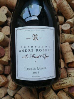 Andre Robert Terre du Mesnil Champagne Grand Cru Blanc de Blancs 2013 Extra Brut