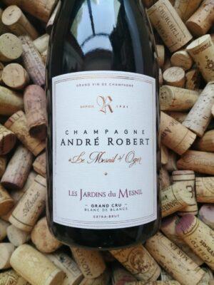 Andre Robert Les Jardins du Mesnil Champagne Grand Cru Blanc de Blancs Brut