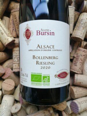 Agathe Bursin Riesling Bollenberg Alsace 2020