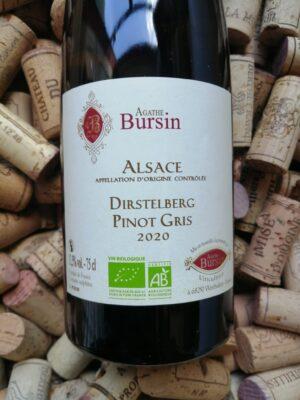 Agathe Bursin Pinot Gris Dirstelberg Alsace 2020
