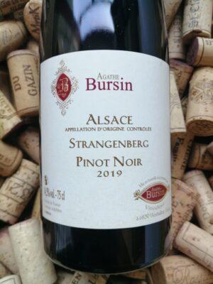 Agathe Bursin Pinot Noir Strangenberg Alsace 2019