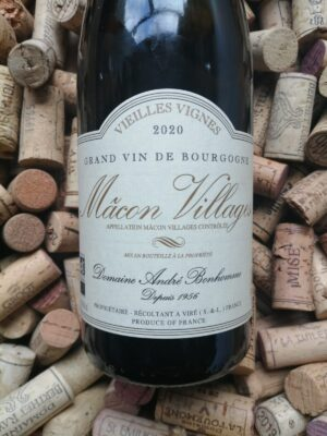Andre Bonhomme Macon Villages Blanc Vieilles Vignes 2020